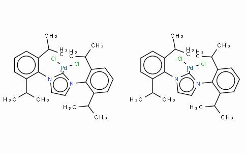 SC10449 | 444910-17-2 | 二氯化[1,3-双(2,6-二异丙基苯基)-1,3-二氢-2H-咪唑-2-亚基]钯(II) 二聚物 立体异构体混合物