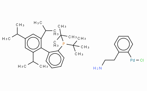 SC10483 | Chloro(2-di-t-butylphosphino-2',4',6'-tri-i-propyl-1,1'-biphenyl)[2-(2-aminoethyl)phenyl] palladium(II)
