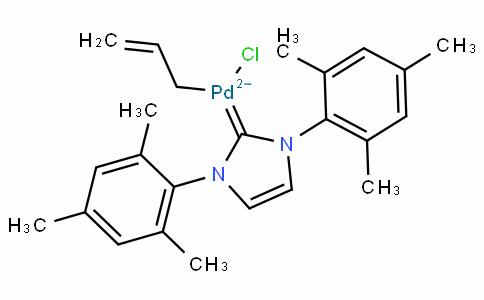 SC10494 | Allylchloro[1,3-bis(2,4,6-trimethylphenyl)imidazol-2-ylidene]palladium(II)