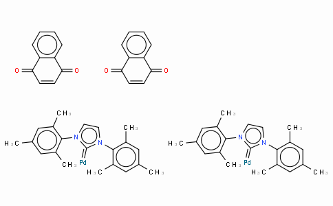 SC10499 | 1,3-Bis(2,4,6-trimethylphenyl)imidazol-2-ylidene(1,4-naphthoquinone)palladium (0) dimer