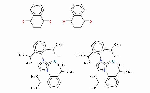 SC10500 | 649736-75-4 | 1,3-Bis(2,6-di-i-propylphenyl)imidazol-2-ylidene(1,4-naphthoquinone)palladium (0) dimer