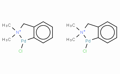 Di-μ-chlorobis[2-[(dimethylamino)methyl]phenyl-C,N]dipalladium(II)