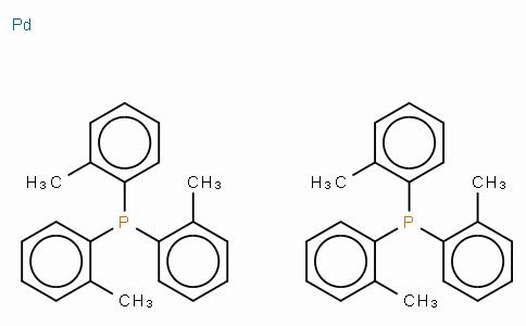 Bis(tri-o-tolylphosphine)palladium(0)