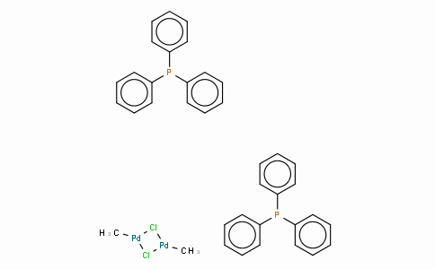 SC10534 | 149869-56-7 | Di-μ-chlorodimethylbis(triphenylphosphine)dipalladium