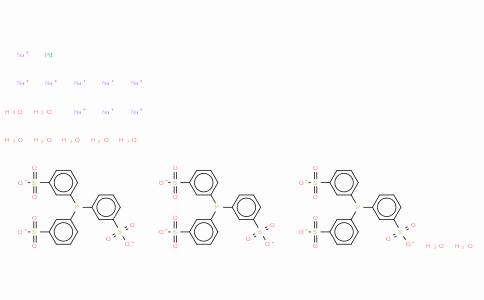 Tris(3,3′,3″-phosphinidynetris(benzenesulfonato)palladium(0) nonasodium salt nonahydrate