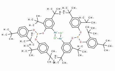 2-[Bis(2,4-di-tert-butyl-phenoxy)phosphinooxy]-3,5-di(tert-butyl)phenyl-palladium(II) chloride dimer
