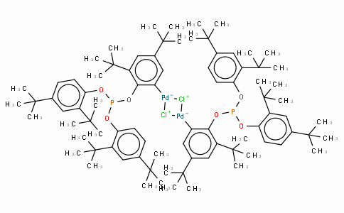 SC10540 | 2-[Bis(2,4-di-tert-butyl-phenoxy)phosphinooxy]-3,5-di(tert-butyl)phenyl-palladium(II) chloride dimer
