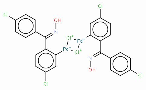 SC10545 | Di-μ-chlorobis[5-chloro-2-[(4-chlorophenyl)(hydroxyimino-κN)methyl]phenyl-κC]palladium dimer