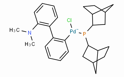 SC10547 | Chloro(di-2-norbornylphosphino)(2'-dimethylamino-1,1'-biphenyl-2-yl)palladium(II)
