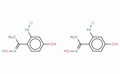SC10550 | Di-μ-chlorobis[5-hydroxy-2-[1-(hydroxyimino-κN)ethyl]phenyl-κC]palladium(II) dimer