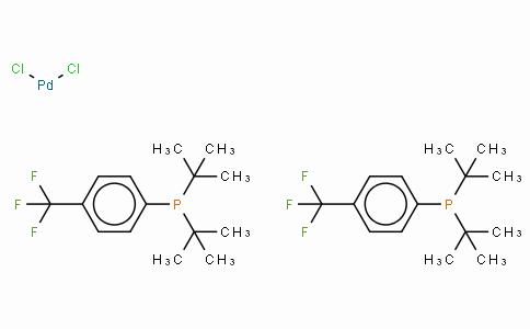 SC10582 | Bis[di-(tert-butyl)(4-trifluoromethylphenyl)phosphine]palladium(II) chloride