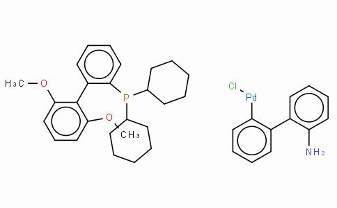 SC10590 | Chloro(2-dicyclohexylphosphino-2',6'-dimethoxy-1,1'-biphenyl)(2'-amino-1,1'-biphenyl-2-yl) palladium(II) min.