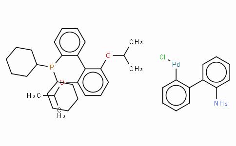 SC10593 | Chloro(2-dicyclohexylphosphino-2',6'-di-i-propoxy-1,1'-biphenyl)(2-amino-1,1'-biphenyl-2-yl)palladium(II), min.