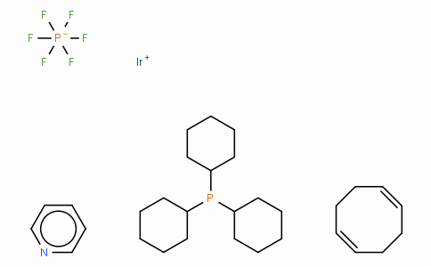 SC10616 | 64536-78-3 | (Tricyclohexylphosphine)(1,5-cyclooctadiene)(pyridine)iridium(I) hexafluorophosphate