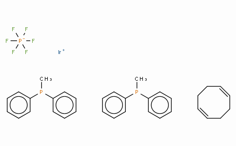 (1,5-Cyclooctadiene)bis(methyldiphenylphosphine)iridium(I) hexafluorophosphate