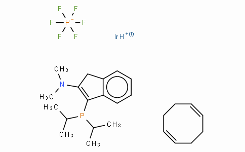3-Di-i-propylphosphino-2-(N,N-dimethylamino)-1H-indene(1,5-cyclooctadiene)iridium(I) hexafluorophosphate