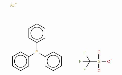 SC10737 | Triphenylphosphinegold(I) trifluoromethanesulfonate