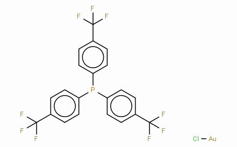 Chloro[tris(para-trifluoromethylphenyl)phosphine]gold(I)