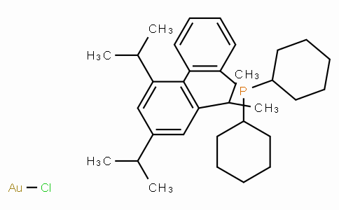 SC10754 | 2-Dicyclohexylphosphino-2′,4′,6′-triisopropylbiphenyl gold(I) chloride