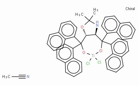 SC10832 | (4R,5R)-(-)-2,2-Dimethyl-α,α,α',α'-tetra(1-naphthyl)-1,3-dioxolane-4,5-dimethanolatotitanium(IV) dichloride acetonitrile adduct