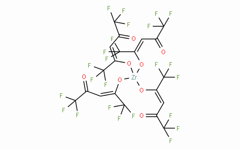 SC10904 | Zirconium(IV) hexafluoroacetylacetonate,  Zr(CF3COCHCOCF3)4