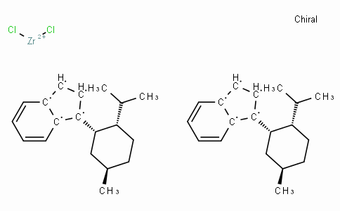SC10910 | (-)-Bis[1-{(1'S,2'S,5'R)-2'-i-propyl-5'-methylcyclohexyl}indenyl]zirconium(IV) dichloride