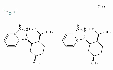 SC10911 | 148347-90-4 | (+)-Bis[1-{(1'R,2'R,5'R)-2'-i-propyl-5'-methylcyclohexyl}indenyl]zirconium(IV) dichloride