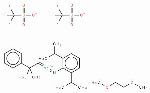 SC10933 | 2,6-Diisopropylphenylimido neophylidenemolybdenum(VI) bis(trifluoromethanesulfonate)dimethoxyethane adduct