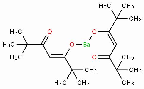 Bis(2,2,6,6-tetramethyl-3,5-heptanedionato)barium hydrate, Ba(TMHD)2