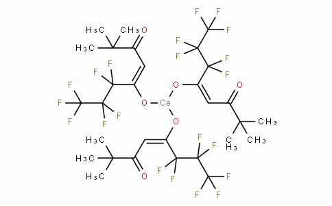 SC10972 | 172424-98-5 | Tris(6,6,7,7,8,8,8-heptafluoro-2,2-dimethyl-3,5-octanedionate)cerium(III)