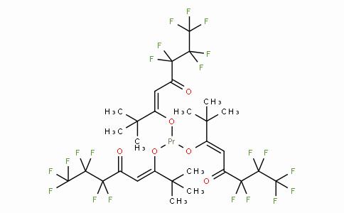 SC10980 | 17978-77-7 | Tris(6,6,7,7,8,8,8-heptafluoro-2,2-dimethyl-3,5-octanedionate)praseodymium(III)