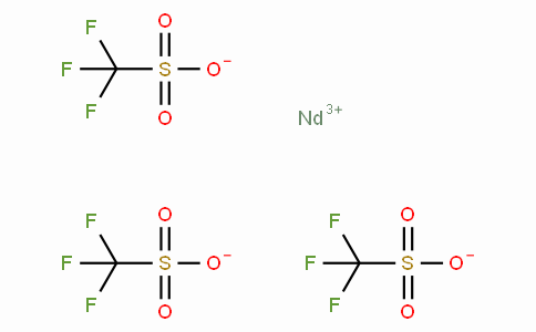 SC10983 | Neodymium(III) trifluoromethanesulfonate,98% (Neodymium triflate)  Nd(CF3SO3)3