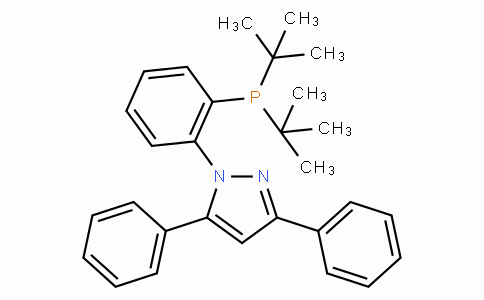 SC11186 | 628333-86-8 | 1-[2-[Bis(tert-butyl)phosphino]phenyl]-3,5-diphenyl-1H-pyrazole