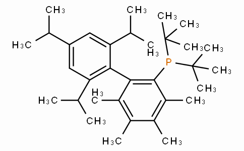 SC11287 | 857356-94-6 | 2-Di-t-butylphosphino-3,4,5,6-tetramethyl-2',4',6'-tri-i-propylbiphenyl