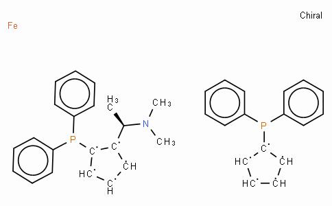 SC11324 | 74311-56-1 | (R)-N,N-Dimethyl-1-[(S)-1',2-bis(diphenylphosphino)ferrocenyl]ethylamine