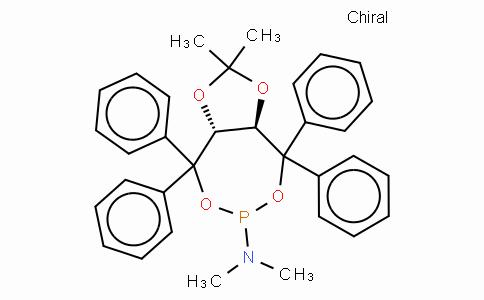 SC11356 | (3aR,8aR)-(-)-(2,2-Dimethyl-4,4,8,8-tetraphenyl-tetrahydro-[1,3]dioxolo[4,5-e][1,3,2]dioxaphosphepin-6-yl)dimethylamine