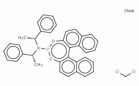 SC11361 | (S)-(+)-(3,5-Dioxa-4-phospha-cyclohepta[2,1-a;3,4-a']dinaphthalen-4-yl)bis[(1R)-1-phenylethyl]amine, dichloromethane adduct