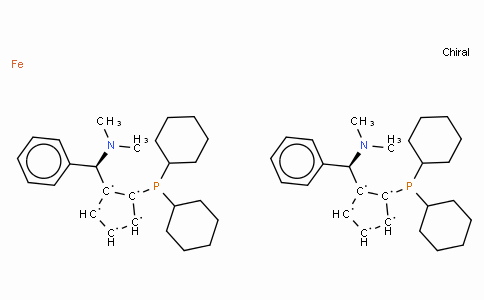 SC11387 | (S,S)-(+)-2,2'-Bis[(R)-(N,N-dimethylamino)(phenyl)methyl]-1,1'-bis(dicyclohexylphosphino)ferrocene