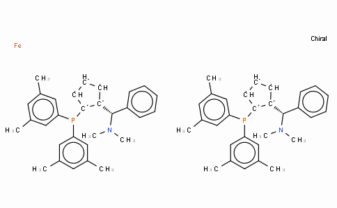 SC11390 | (R,R)-(+)-2,2'-Bis[(S)-(N,N-dimethylamino)(phenyl)methyl]-1,1'-bis(di(3,5-dimethylphenyl)phosphino)ferrocene