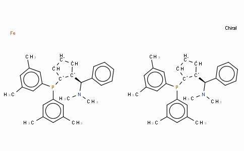 SC11393 | 793718-16-8 | (S,S)-(-)-2,2'-Bis[(R)-(N,N-dimethylamino)(phenyl)methyl]-1,1'-bis(di(3,5-dimethylphenyl)phosphino)ferrocene