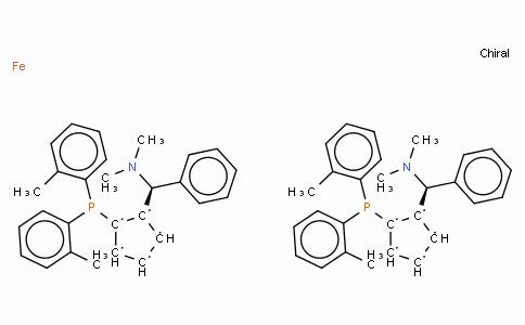 SC11397 | 831226-39-2 | (R,R)-(+)-2,2'-Bis[(S)-(N,N-dimethylamino)(phenyl)methyl]-1,1'-bis(di(2-methylphenyl)phosphino)ferrocene