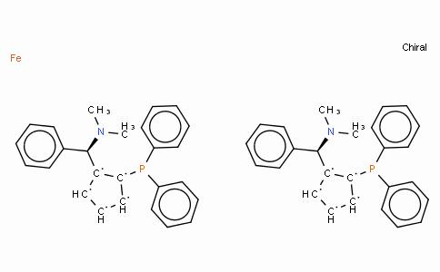 SC11401 | (S,S)-(-)-2,2'-Bis[(R)-(N,N-dimethylamino)(phenyl)methyl]-1,1'-bis(diphenylphosphino)ferrocene