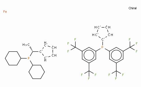 SC11410 | (R)-(-)-1-{(S)-2-[Bis(3,5-di-trifluoromethylphenyl)phosphino]ferrocenyl}ethyldicyclohexylphosphine