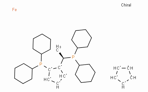 SC11421 | 167416-28-6 | (R)-(-)-1-[(S)-2-(Dicyclohexylphosphino)ferrocenyl]ethyldicyclohexylphosphine