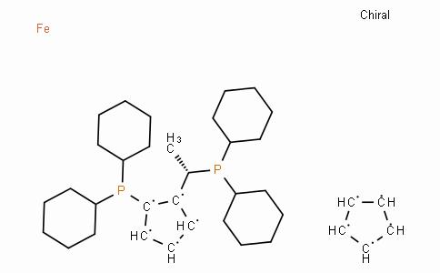 (S)-(+)-1-[(R)-2-(Dicyclohexylphosphino)ferrocenyl]ethyldicyclohexylphosphine