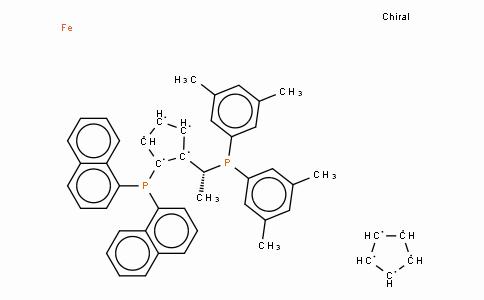 SC11433 | 851308-40-2 | (R)-(-)-1-[(S)-2-(Di-1-naphthylphosphino)ferrocenyl]ethyldi-3,5-xylylphosphine