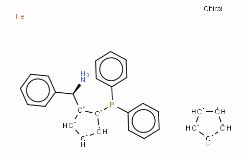 SC11436 | (R)-(-)-1-[(S)-2-(Diphenylphosphino)ferrocenyl]benzylamine