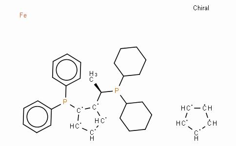 SC11457 | 155806-35-2 | (R)-(-)-1-[(S)-2-(Diphenylphosphino)ferrocenyl]ethyldicyclohexylphosphine ethanol adduct