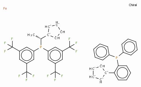 SC11461 | 387868-06-6 | (R)-(-)-1-[(R)-2-(2'-Diphenylphosphinophenyl)ferrocenyl]ethylbis(di-3,5-trifluoromethylphenyl)phosphine