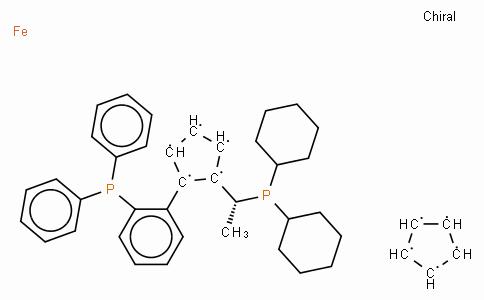 SC11463 | (R)-(-)-1-[(R)-2-(2'-Diphenylphosphinophenyl)ferrocenyl]ethyldicyclohexylphosphine